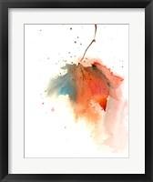 Framed Fall Leaves I