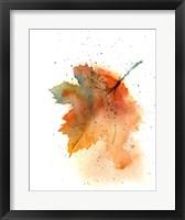Framed Fall Leaves II