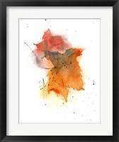 Framed Fall Leaves IV