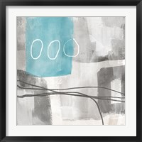 Soft Abstract II Framed Print