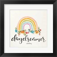 Framed Daydreamer Rainbow