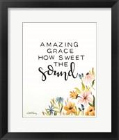 Framed Amazing Grace