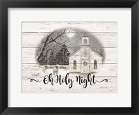 Framed Oh Holy Night