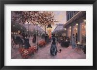 Framed Strolling on the Avenue