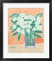 Framed Flowers Tell Me Secrets
