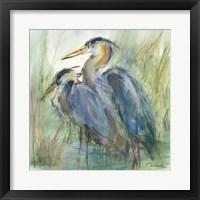 Framed Heron's Glen
