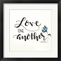 Framed Love One Another