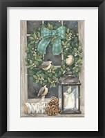 Framed Winter Wreath