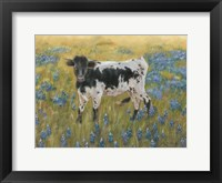 Framed Cutie in the Bluebonnets