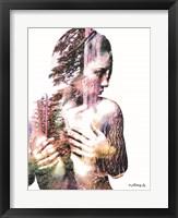 Framed Wilderness Woman III