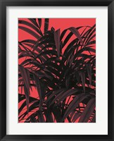 Framed Tropical Leaf