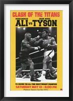 Framed Ali vs Tyson