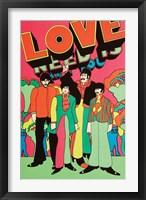 Framed Beatles - Love