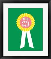 Framed Very Best Award