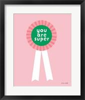 Framed Super Award