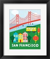Framed City Fun San Francisco