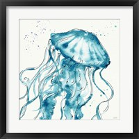 Framed Deep Sea X Teal