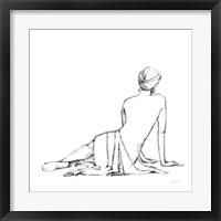 Framed Figure Study II BW