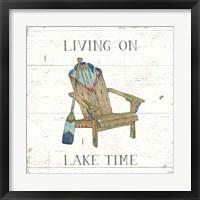 Framed Lake Sketches IV Color