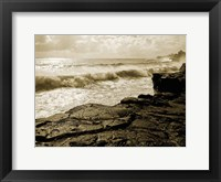 Framed Pahoa Sea