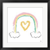 Framed Rainbow Dream II