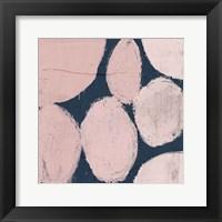 Framed Raw Sienna XII Pink