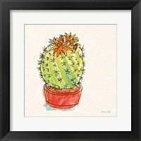Cacti Garden II Framed Print