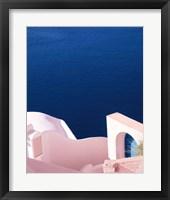 Framed Santorini II Spring Crop