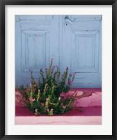 Framed Santorini I Spring Crop