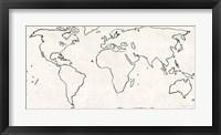 Framed Sketch Map