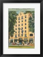 Framed Florida Postcard V