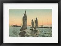 Framed Florida Postcard I