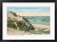 Framed Beach Postcard V