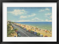Framed Beach Postcard II