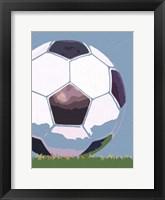 Framed Soccer