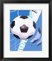 Framed Soccer Goal