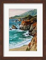 Framed Coastal Grandeur
