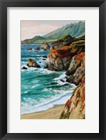 Framed Coastal Grandeur