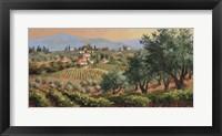 Framed Fruits of Tuscany
