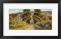 Framed Monet's Grand Entrance