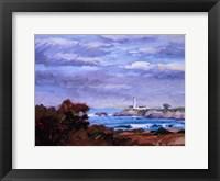 Framed Lighthouse Impression