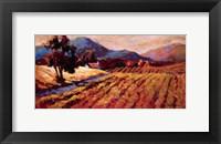 Framed Gilded Vines