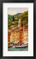 Framed Peaceful Portofino