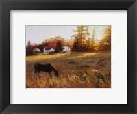 Framed Russet Fields
