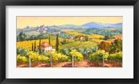 Framed Tuscan Gold