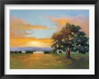 Framed Sunset Salute