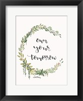 Framed Own Your Tomorrow