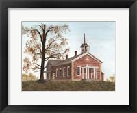 Framed Stanwood School