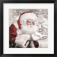 Framed Santa's Little Friend
