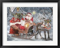 Framed Santa's Little Helper